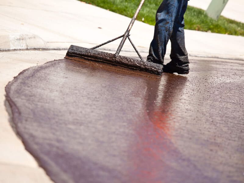 Line marking services & parking lot line striping services after resurfacing & sealcoating