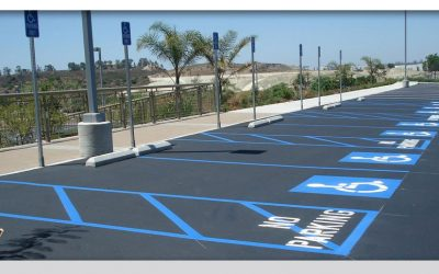 Parking Lot Restriping- ADA Compliant